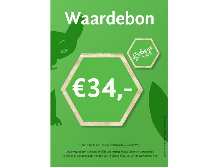 De Groen Vos_waardebon-voorkant